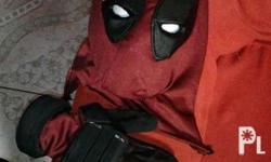 Deadpool mask and gloves set available for preorder.