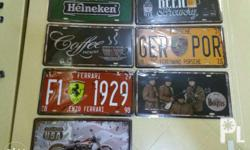 Decorative Tin Plates for home, offices etc.