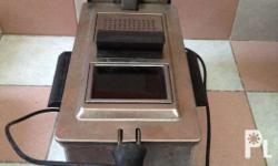 Slightly used Heavyduty and quality Deep fryer For