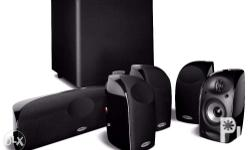 Brand new home theater satellite speakers for sale w/ 1