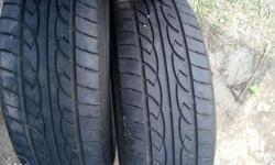 For sale tires 2pcs for P3500 For van, pick up . Innova