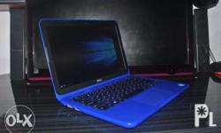 Dell Inspiron 11-3162 Color Blue With Charger No Box No
