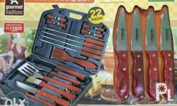 Gourmet traditions BBQ set. Brand new item from the US.