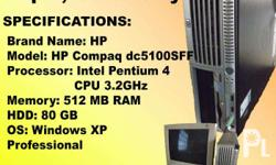 RUSH SALE!!! Brand Name: HP Model: HP Compaq dc5100SFF