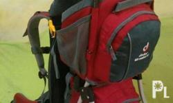 Deuter Kid Comfort 2 Child Carrier Hiking and Travel