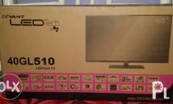 Selling my pristine condition Devant 40� LED Tech TV