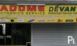 RADOME ELECTRONICS is authorized service center of