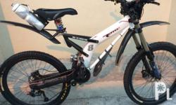 Rotec downhill mountain bike 2nd hand.... Tawad nlng