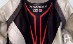 Dianese motorcycle mono suit leather made with complete