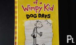 I am selling three books of the Wimpy Kid series,