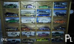 Collection of 24 pcs cars. Various brand. Old model