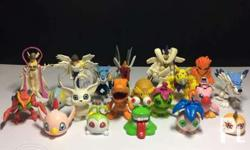 "Pic 1-5: Digimon figures 20 pieces 1-1.7"" - Php 1,000"