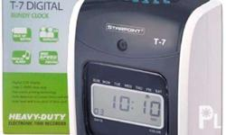 SPECS: Starpoint T7 Digital Bundy Clock Rated capacity