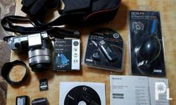 Sony Nex 5r Complete package inclusion 32gb sony memory