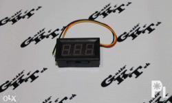 Red LED display. Low power consumption. Snap on design