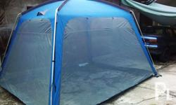 Dining cabin tent by Navigator South All sides with