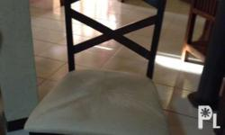 New not yet used dining chairs, Malaysian wood, chairs