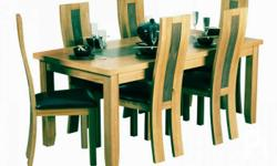 Dining set 6 seater Brand new Made up of 2different
