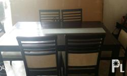 6-seater rectangular dining table. Still in great