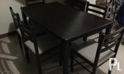 Dining Table for 6 persons Bought January 2014 Php