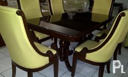 6-seater dining table Php 65,000.00 - treated japan
