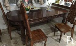 8-seater dining table Made of Narra wood Price