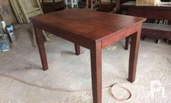 30x48 Dining Table Made of mahogany wood We accept made