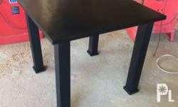 Dining Table Only Marine Plywood Top Aluminum legs with