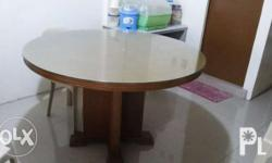 For sale Round Dinning Table Location: Imus Cavite