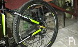 Discovery alloy frame bike, shimano accessories. Issue
