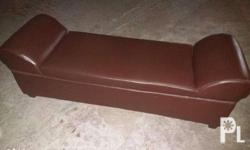 Chair is in very good condition. Color: Dark brown