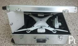 Dji phantom 3 advanced with 2battery and hardcase or