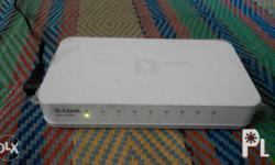 Dlink switch 8ports. Very fresh used for testing once.