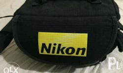 Nikon d3200 DSLR Camera With accessories Used only