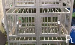 Dog aluminum cages for sale 6 doors Price: 6800