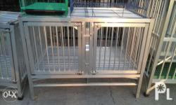 for sale aluminum dogcage brand new size 20x22 - 3,500