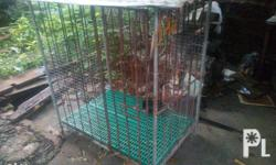 For sale dog cage 3,000 pesos negotiable Paombong