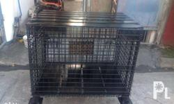Dog cage that can also be used as an industrial crate