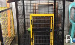 Heavy duty steel dog cages SIZES: length x height x