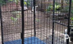 For sale Dog cage heavy duty folding for large breed