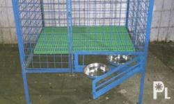 brand new heavy duty 3x3x3 with 4 wheels with food tray