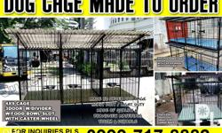 Price depende po sa size ng cage, We build made to