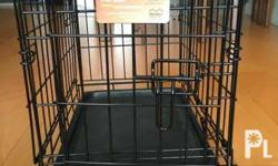 For sale dog cages 2pcs only 2500. Peck up makati