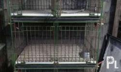 Dog Cages for Sale. 3 pcs. 3 layers with divider. L 36""