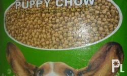 FS:Dog Food P 100 / kg BOW WOW PUPPY CHOW Very good for