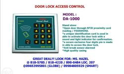MODEL : DA-1000 DOOR LOCK ACCESS Stand alone Open door