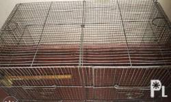 For sale:double bird cage Location:pandacan petron oil