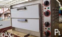Pizza oven - not only for pizza; small, handy and