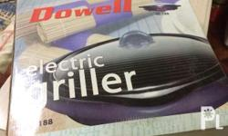 new Dowell Electric Griller - P1000 New Nikko Manual