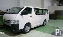 Toyota 3.0 Commuter Unit Price: P1,309,000 15% ALL IN